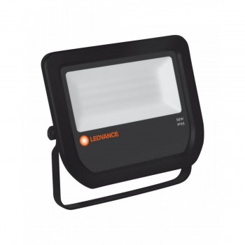 Floodlight LED 50W/3000K BLACK 5000lm IP65