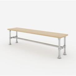 Garden Bench Frame 180x50x40 cm - Model 1 Klemp LAWK-180x50x40-M1 Furniture