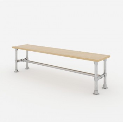 Gartenbank Gestell 140x50x40 cm - Modell 1 Klemp LAWK-140x50x40-M1 Möbel