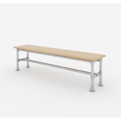 Garden Bench Frame 160x50x40 cm - Model 2 Klemp LAWK-160x50x40-M2 Furniture