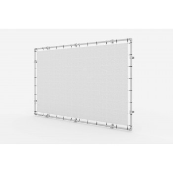 Wall Mounted Banner Aluminium Tension Frame