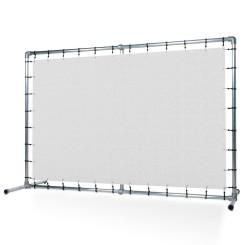 Präsentationswand Banner Aluminium Spannrahmen Klemp SCIAN-PRO Konstuktionen