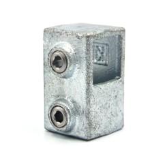 Short Tee - 25 mm - Type 02S-25 Klemp 608002S-25 Square Tubefittings
