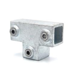 T-Stück, lang - 25 mm - Typ 04S-25 Klemp 608004S-25 Quadratische Rohrverbindungen
