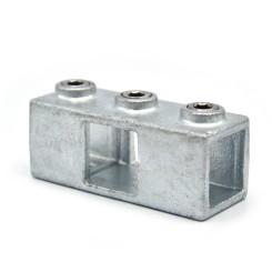Kreuzstück, durchgehend - 25 mm - Typ 22S-25 Klemp 608022S-25 Quadratische Rohrverbindungen