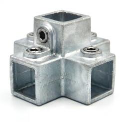 Four Socket Cross - 25 mm - Type 26S-25 Klemp 608026S-25 Square Tubefittings