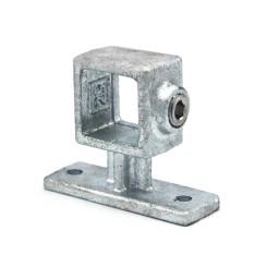 Handrail Support - 25 mm - Type 34S-25 Klemp 608034S-25 Square Tubefittings