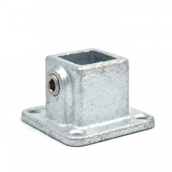 Flange, square - 25 mm - Type 11S-25 Klemp 608011S-25 Square Tubefittings