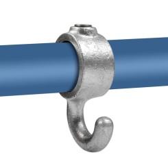 Coat hook - Typ 64A - 21,3 mm Klemp 608064A Round Tubefittings