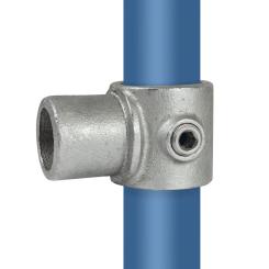 Rohrverbinder Intern Drehstück T-stück - Typ 5E - 48,3 mm Klemp 608005E Runde Rohrverbindungen
