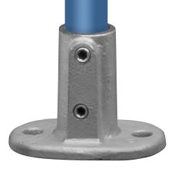 Podstawa słupka - stopa owalna - Typ 12E - 48