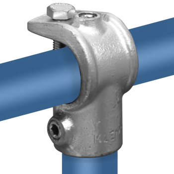 Rohrverbinder T-stück Offen - Typ 32E - 48,3 mm Klemp 608032E Runde Rohrverbindungen