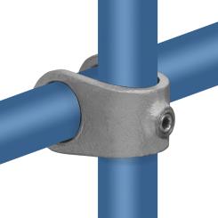 Rohrverbinder Kreuzstück Offen - Typ 33D - 42,4 mm Klemp 608033D Runde Rohrverbindungen