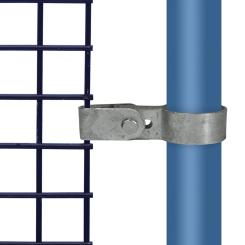 Rohrverbinder Gitterhalter Einfach - Typ 70C - 33,7 mm Klemp 608070C Runde Rohrverbindungen