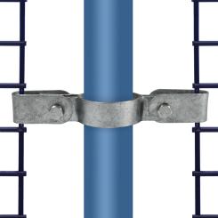 Rohrverbinder Gitterhalter Doppel - Typ 71D - 42,4 mm Klemp 608071D Runde Rohrverbindungen