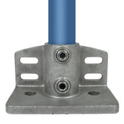 Trittrand-Fußplatte - Type 147E - 48,3 mm Klemp 608147E Round Tubefittings