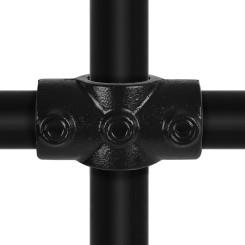 Cross (Middle Rail) - Type 22C - 33,7 mm (Black) Klemp 6080Z22C Black Tubefittings