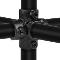 Center Cross - Type 26C - 33,7 mm (Black) Klemp 6080Z26C Black Tubefittings