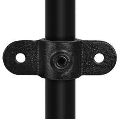 Rohrverbinder Gelenkaugel Doppel - Typ 38C - 33,7 mm (Schwarz) Klemp 6080Z38C Schwarze Rohrverbindungen