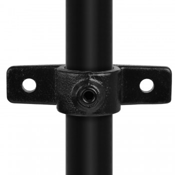 Double-Lugged Bracket - Type 56C - 33,7 mm (Black) Klemp 6080Z56C Black Tubefittings