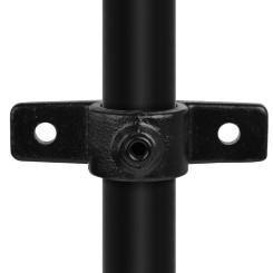 Rohrverbinder Ösenteil Mit Doppellasche - Typ 56C - 33,7 mm (Schwarz) Klemp 6080Z56C Schwarze Rohrverbindungen