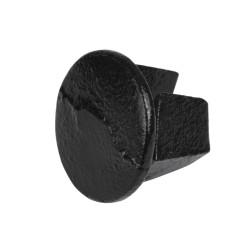 Metall Stop End - Type 73C - 33,7 mm (Black) Klemp 6080Z73C Black Tubefittings