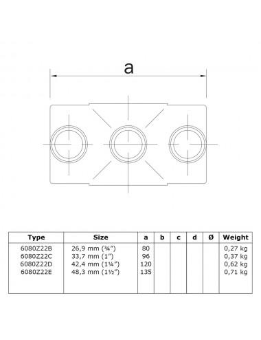 Rohrverbinder Temperguss 90Grad Bogen