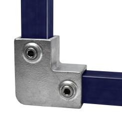 Rohrverbinder Bogen 90° - Typ 6S-40 Klemp 608006S-40 Quadratische Rohrverbindungen