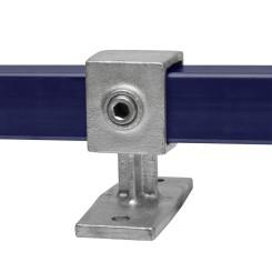 Rohrverbinder Handlaufhalterung - Typ 34S-40 Klemp 608034S-40 Quadratische Rohrverbindungen