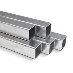 Stahlrohr Quadratisch verzinkt - 40x40x2 mm Klemp STK402 Rohre