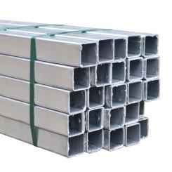 Steel Square Tube - 40x40x2 mm - like Kee Klamp